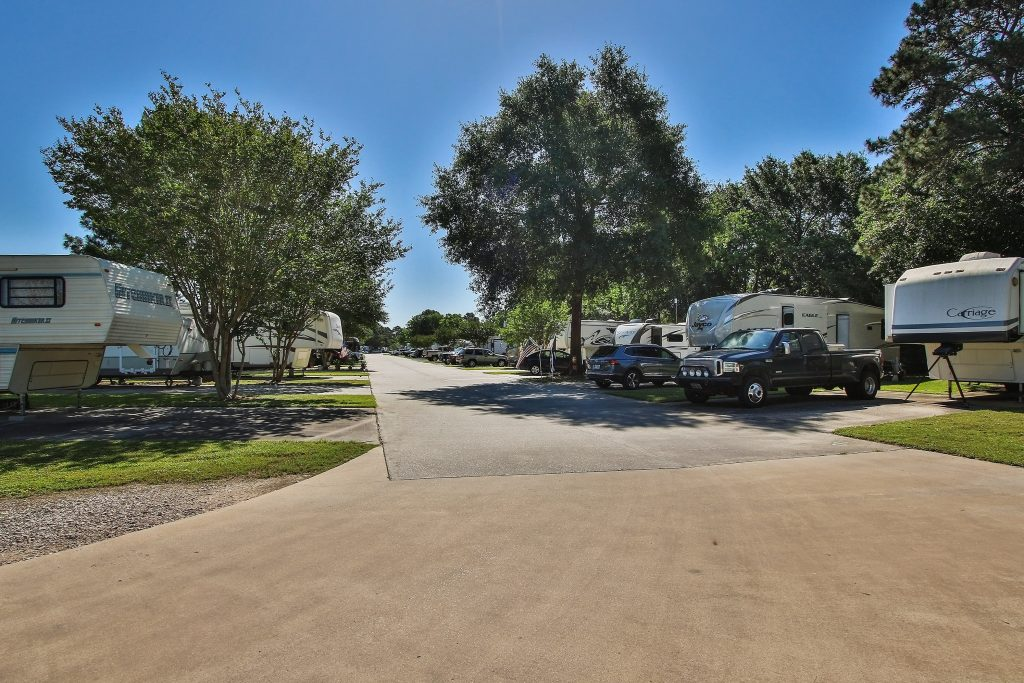 Corral RV Park with RVs